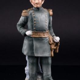 Фигурка из фарфора Генерал-майор армии США в форме 1871 года, Lefton, Япония, вт. пол. 20 в.