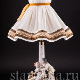 Дети, лампа, Volkstedt, Германия, нач. 20 в