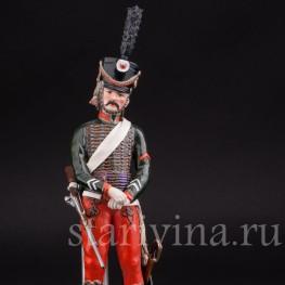 Статуэтка Бригадир 8-го гусарского полка, Adrien Van Gerdinge, Франция, вт. по. 20 в.